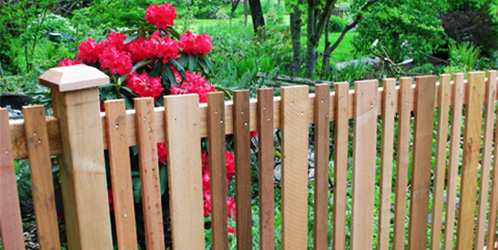 Specialty Picket Fence