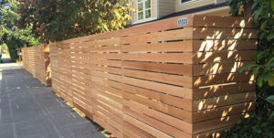 Horizontal Fence by Alpine Fence Co
