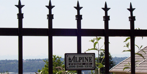 Ornamental Iron Fencing in Seattle, WA