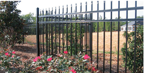 Wood-modified panels by Alpine Fence Co. Inc