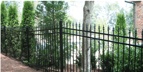 Ornamental iron fencing in Seattle